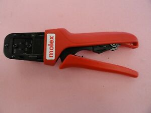 Molex 63825 8100a Crimping Tool With 63825 8175