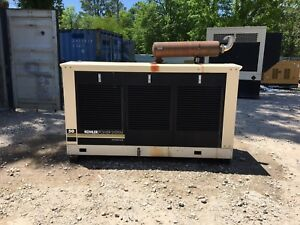 Kohler 49kw Propane Generator Single Phase Weather Proof Enclosure 164 Hours