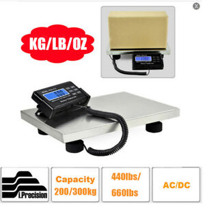 200 300kg Digital Platform Scale Stainless Steel Postal Shipping Large Auto Off