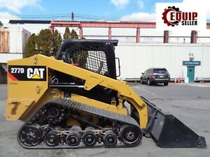 2015 Caterpillar 277d Track Skid Steer Loader Auxiliary Hydraulics 2 Speed