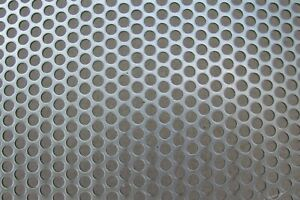 3 16 Holes 20 Gauge 304 Stainless Steel Perforated Sheet 6 X 23