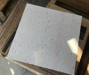 45 Sq Armstrong 12 Excelon 1 8 Vinyl Comp Cool White Commercial Floor Tile