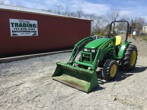 2012 John Deere 4105 4x4 Compact Tractor W Loader Coming In Soon
