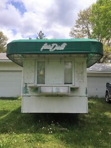 16 X 8 Food Trailer concession Used Good Condition Used As An Ice Deli