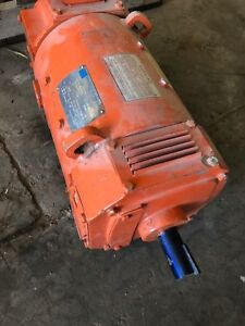 Shackelton Systems Drive Dc 12 Hp Motor 1750rpm 500 Volts Model 5cd154la006bb02