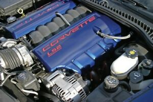 C6 Corvette Gm Textured Painted Ls2 Ls3 Or Ls7 Fuel Rail Covers all C6 Colors
