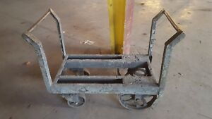 Vintage Industrial Cart Steampunk Coffee Table Kitchen Cart