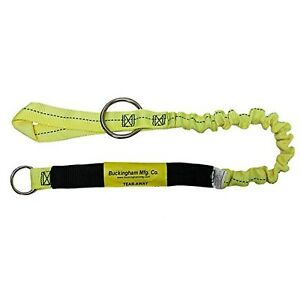 Buckingham Tear Away Bungee Chainsaw Lanyard 25y12 48a Arborist Yellow