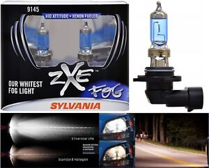 Sylvania Silverstar Zxe H10 9145 45w Two Bulbs Fog Light Lamp Replace Upgrade