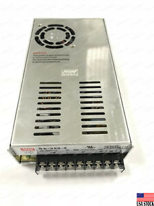 Mean Well Se 350 5 350w Single Output Switching Power Supply Ac dc 100 120v 7a
