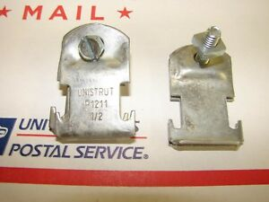 Unistrut P1211 1 2 Pipe Clamps Rigid Conduit lot Of 40 Free Priority Mail