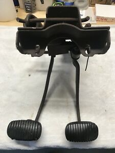 57 Chevrolet Chevy 4 Speed Manual Brake Clutch Pedals 1957 Pedal Assembly