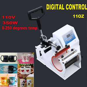 Digital Display Heat Press Transfer Sublimation Machine For Coffee Mug Cup