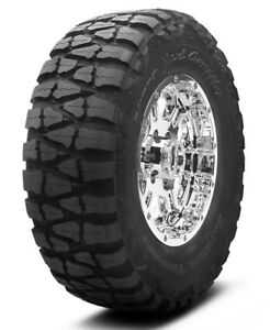 2 New 35x12 5 20 Nitto Mud Grappler 121q 12 5r R20 Tires