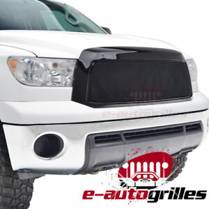10 13 Toyota Tundra Packaged Grille Black Stainless Steel Wire Mesh Replacement