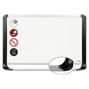 Porcelain Magnetic Dry Erase Board 24x36 White silver