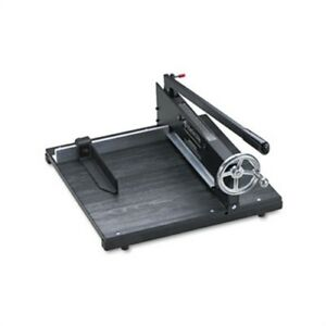 Commercial Stack Paper Cutter 350 Sheet Capacity Wood Base 16 X 20