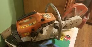 Stihl Ts400 Concrete Cut off Saw Excellent Working Cond Runs Strong Easy Start
