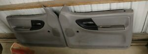 Ford Ranger Door Panels Non Power Gray Oem 1998 2001