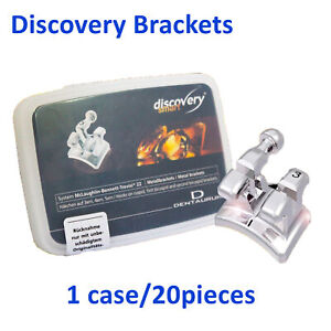 Dental Dentaurum Discovery Smart Orthodontic Metal Brackets Mbt 22 20pcs