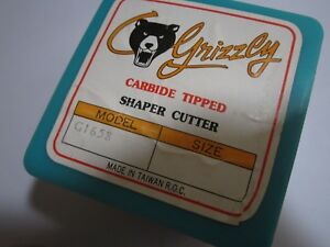 G1658 Grizzly Carbide Tip Shaper Cutter