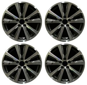 18 Honda Civic Hfp 2014 2015 Factory Oem Rim Wheel 64067 Charcoal Machined Set