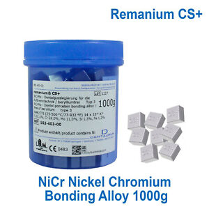 Remanium Cs Dental Lab Nicr Metal Alloy Porcelain Casting Bonding