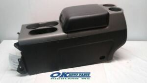2004 2008 Ford F150 Gray And Black Center Floor Console Assembly