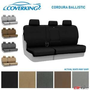Coverking Cordura Ballistic Rear Custom Seat Cover For 2016 2018 Honda Pilot