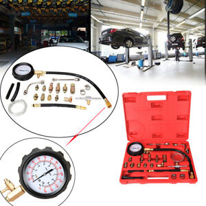 140 Psi Fuel Injection Pump Pressure Injector Tester Test Pressure Gauge Kits