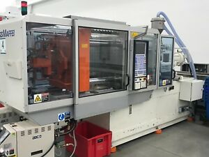2004 Krauss Maffei 125 390 C2 Plastic Injection Mold Machine