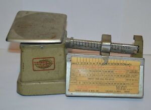 Vintage Postal Scales Triner Chicago Illinois Weight Scales