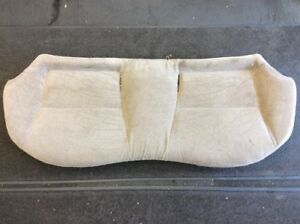 96 97 98 Civic Sedan 4dr Rear Seat Bottom Cushion Gray Used Oem