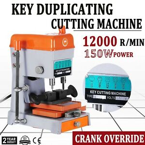 Key Duplicating Machine Key Guide Reproducer Reproducing Cutter Locksmith 110v