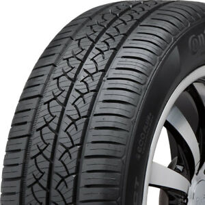 2 New Continental Truecontact 91t 90k mile Tires 1956515 195 65 15 19565r15
