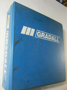 Gradall G3wd Combined Service Manual 2460 4111