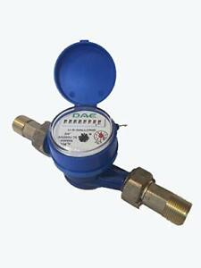 Dae As200u 75 Water Meter 3 4 Inch Npt Couplings Measuring In Gallons