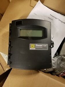 Square D Power Logic Energy Meter Emb2032 With 2 300a Size 2 Ct s