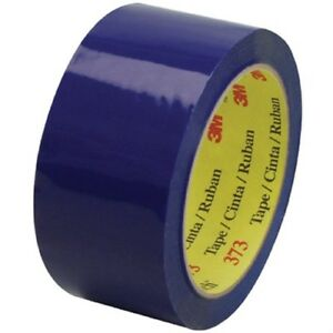 3m 95053 Industrial Tape Scotch 373 Box Sealing Tape Blue 60mm X 50m 16 Rolls