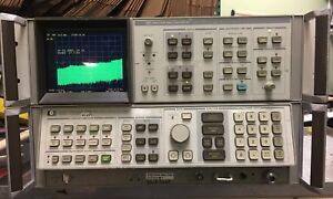 Hp 8566a Spectrum Analyzer 100hz To 22ghz With 85662a Display Used