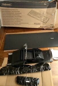 New open Box Fellowes Profecssional Series Compact Keyboard Tray