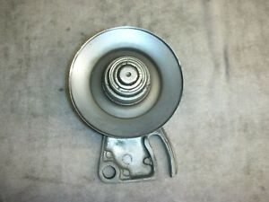 Corvair Chrome Engine Idler Pully Polished Bracket Belt Deflector Fits All