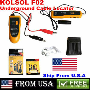 Us Ship Nf 816 Underground Tube Wall Wire Cable Locator Lan Tracker Detector