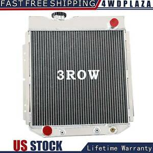3 Row Aluminum Radiator For 1960 1966 Ford Mustang Comet Falcon 62 63 65 64 Us