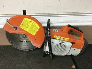 Stihl Ts 400 Cut off Concrete Demo Saw 14 With Water Kit