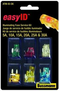 Bussmann Atm id sk Easyid Fuse Assortment Kit 36 Piece