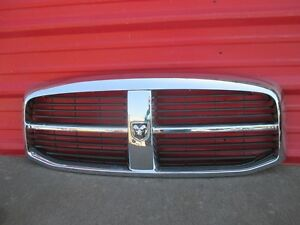06 07 08 Dodge Ram 1500 Front Grille Chrome Grill Oem 2006 2007 2008