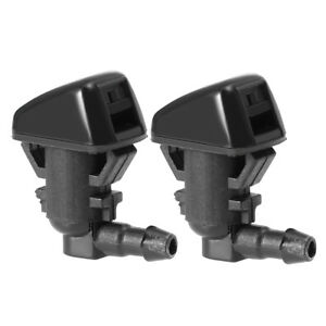 Super Duty Windshield Washer Jet Nozzle Sprayer Pair Set Fits Ford F250 F350 New