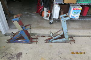 Lot Of 2 Qual Craft Scaffold Pump Jacks Model 2200 Used Work Great Vintage