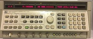 Agilent Hp 8341b Synthesized Sweep Signal Generator 10mhz To 20ghz Opt 002